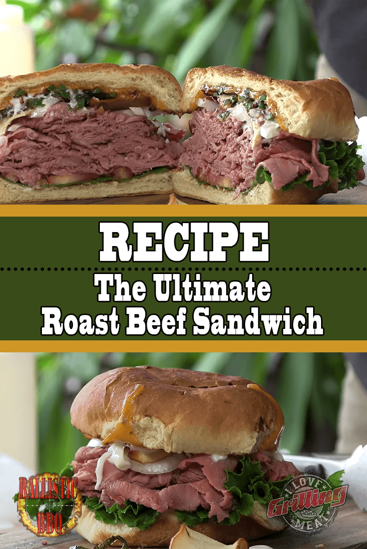 The Ultimate Roast Beef Sandwich Recipe