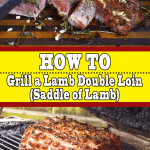 How to Grill a Lamb Double Loin (Saddle of Lamb)