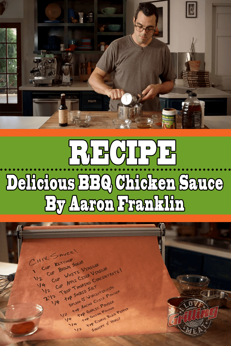 BBQ Chicken Sauce By Aaron Franklin (Mouthwateringly Delicious)