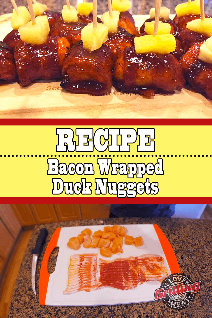 Bacon Wrapped Duck Nuggets Recipe (Savory, Sweet, Delicious)