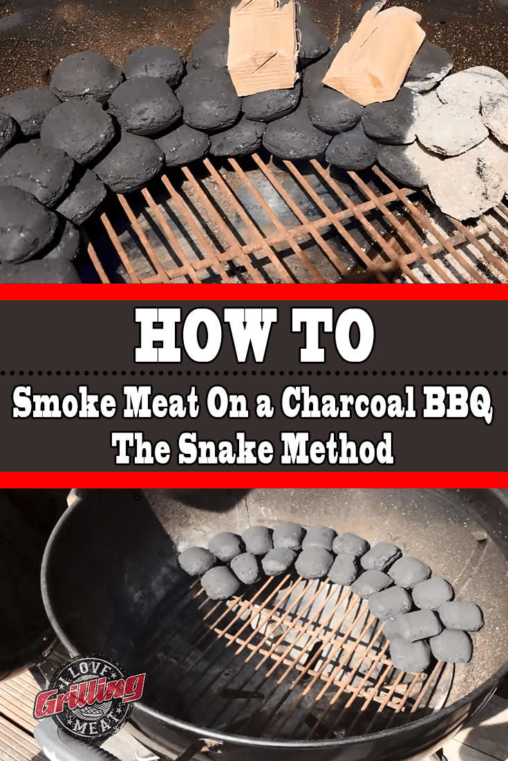 How To Smoke Meat On a Charcoal BBQ (The Snake Method)