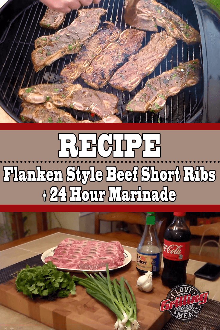 Beef Flanken Style Short Ribs (24 Hour Marinade Included)