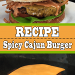 Spicy Blackened Cajun Burger Recipe (Secret Patty from Heaven)