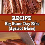 Big Game Day Ribs Recipe (Apricot Glaze)