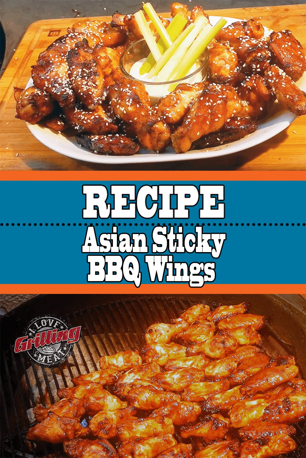 Asian Sticky BBQ Wings Recipe
