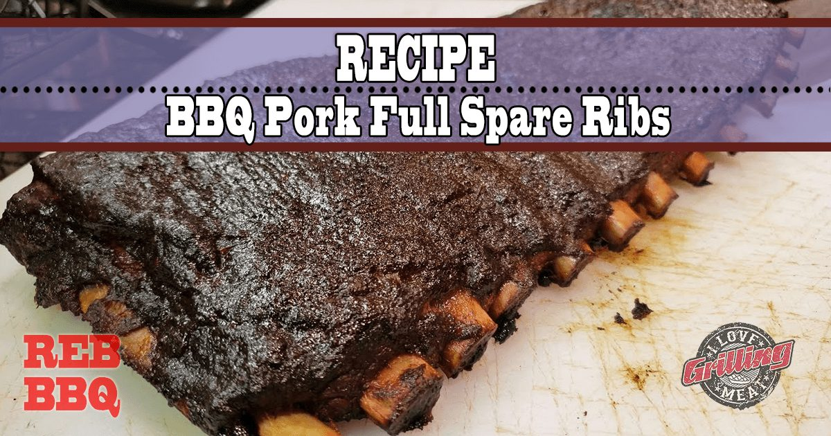 BBQ Pork Full Spare Ribs Recipe