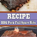 Quick BBQ Pork Full Spare Ribs Recipe