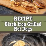 Black Iron Grilled Hot Dogs Recipe