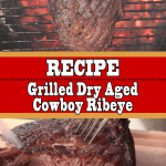 Dry Aged Cowboy Ribeye Steak on the Pit Barrel Cooker