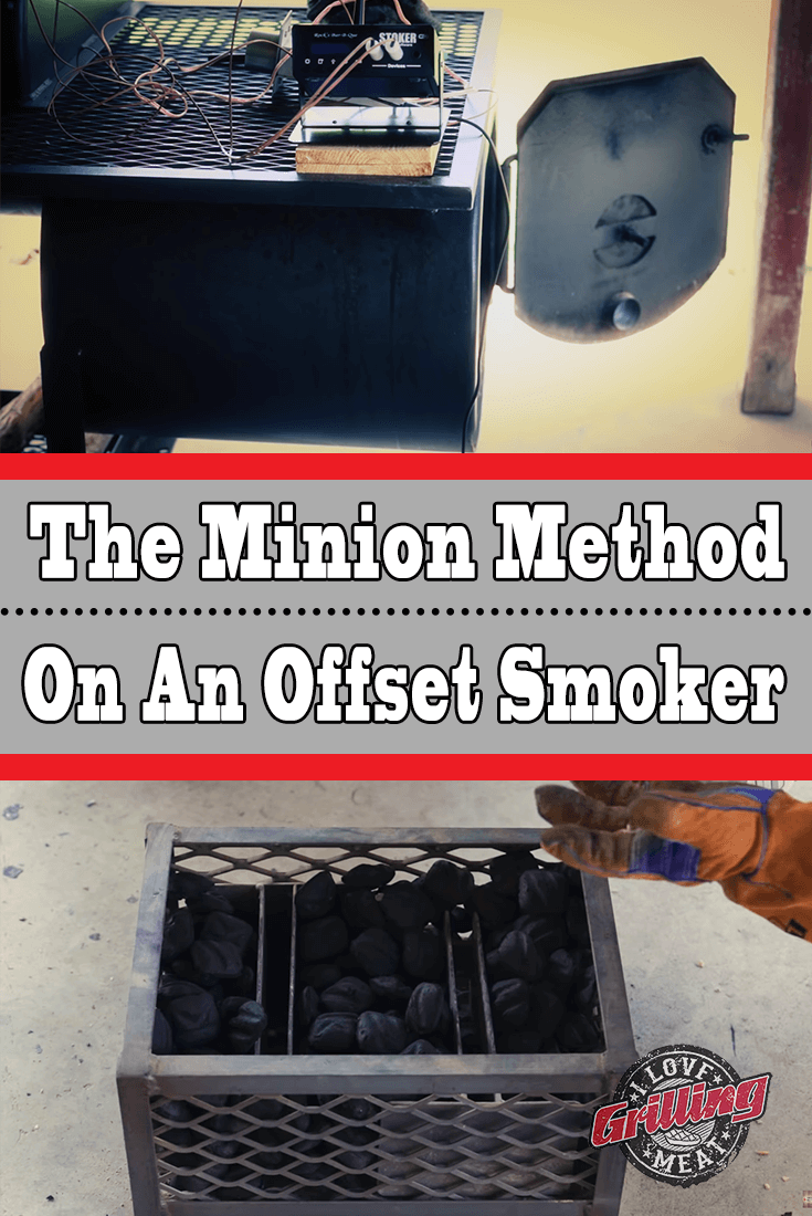 The Minion Method On An Offset Smoker