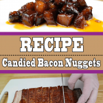 Candied Bacon Nuggets | Bacon Burnt Ends On The Grill