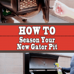 How to Season your BBQ Pit (Seasoning a Gator Pit)