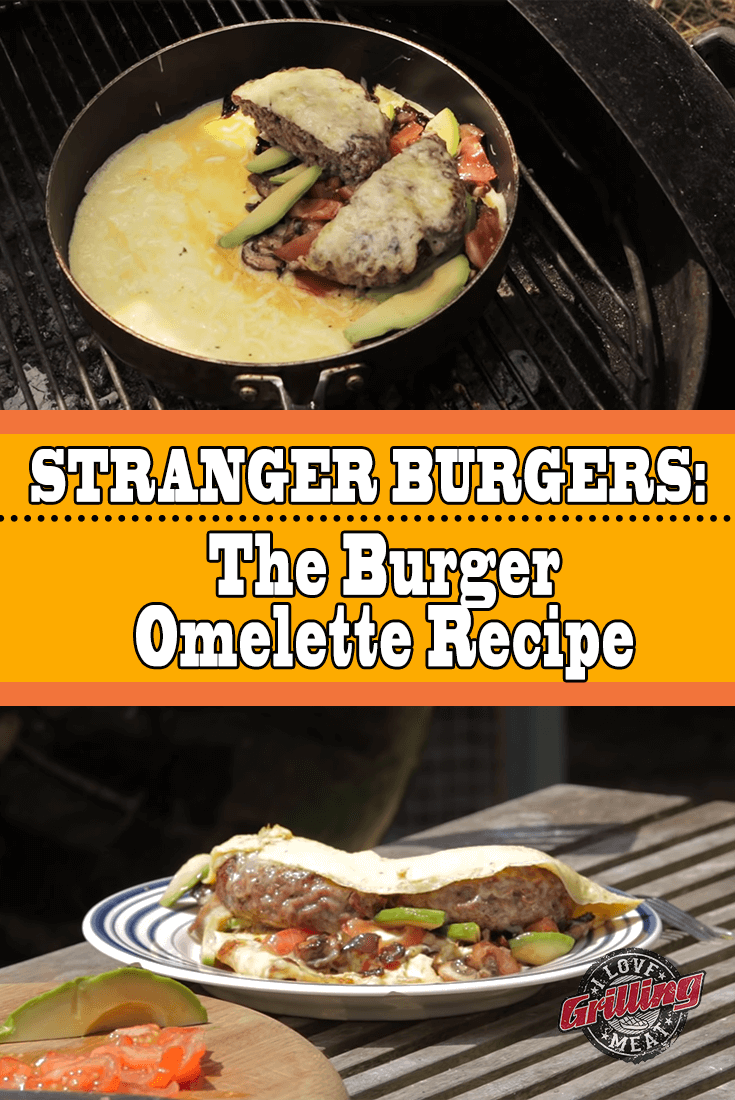 The Burger Omelette (Stranger Burgers)