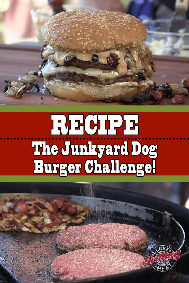 The Junkyard Dog Burger Challenge