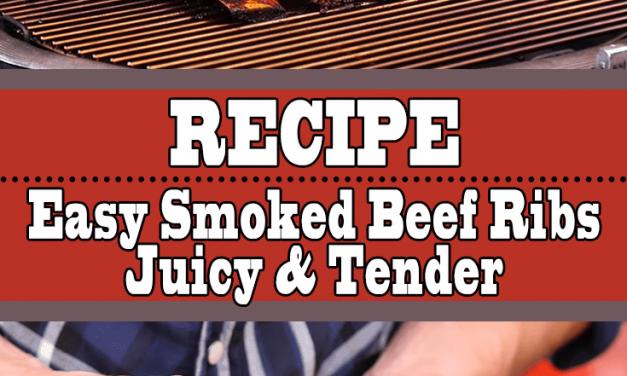 Easy Smoked Tender Beef Ribs Recipe