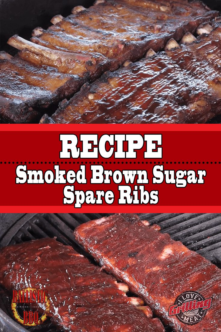 Smoked Brown Sugar Spare Ribs Recipe