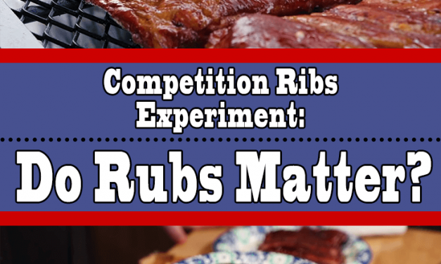 Competition Ribs Experiment (Do Rubs Matter?)