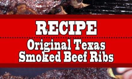 Original Texas Smoked Beef Ribs (Low and Slow)