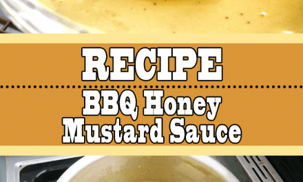 BBQ Honey Mustard Sauce Recipe