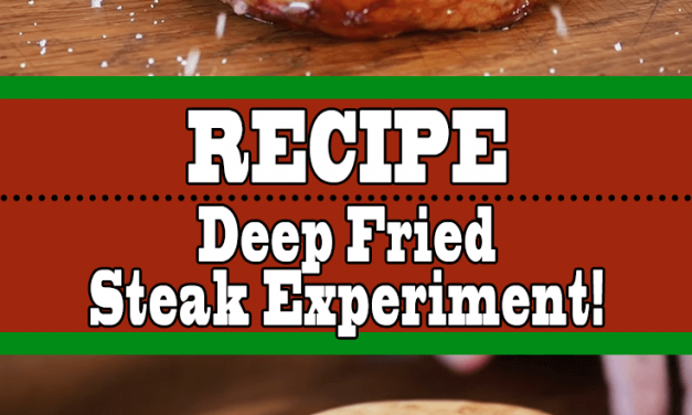 Deep Fried Steak vs Seared Steak Experiment