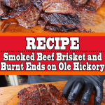 Smoked Beef Brisket Burnt Ends Mouthwatering Flavors