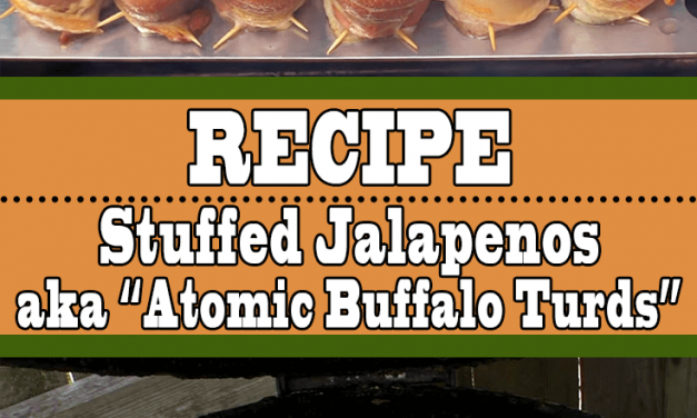 Stuffed Jalapeños (Atomic Buffalo Turds)