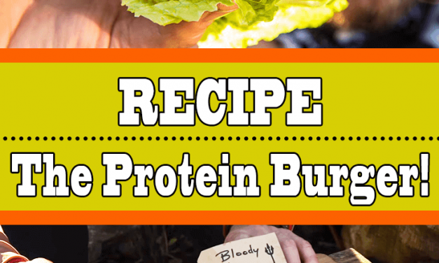 Bunless Burger Recipe (The Protein Burger)