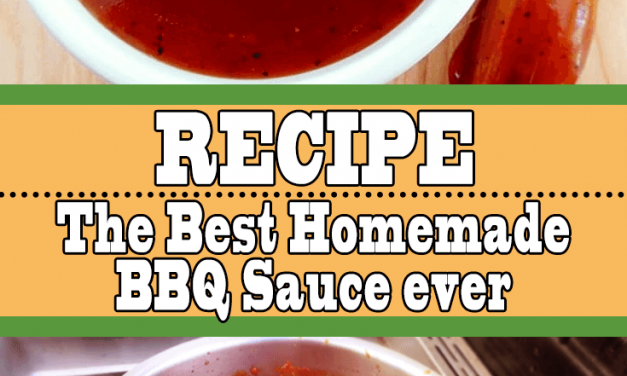 The Best Homemade BBQ Sauce (Super Easy Recipe)