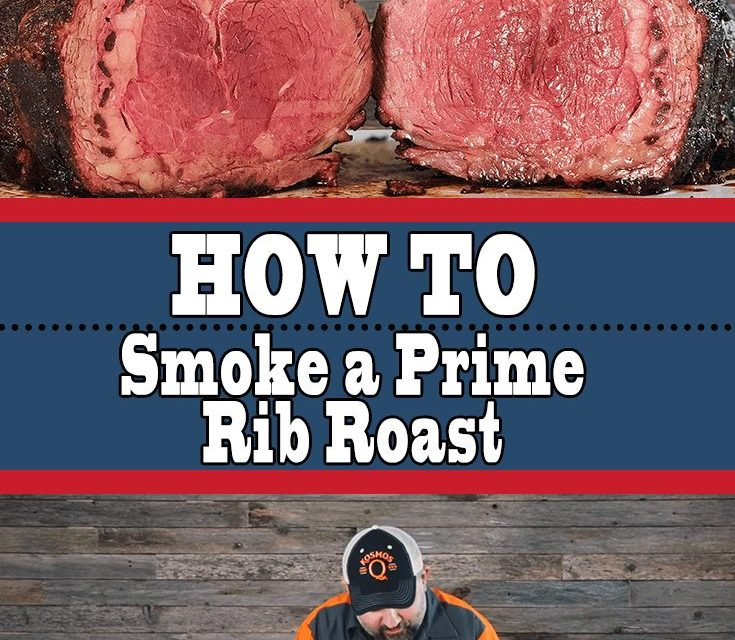 How To Smoke a Prime Rib Roast With Perfect Bark