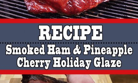 Smoked Ham with Pineapple Cherry Holiday Glaze