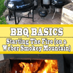 BBQ Basics: Starting The Fire (on a Weber Smokey Mountain)