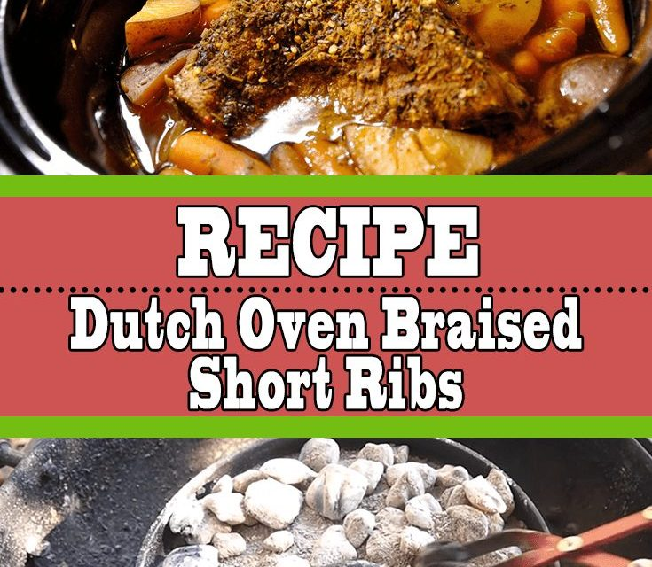 Dutch Oven Braised Short Ribs Recipe