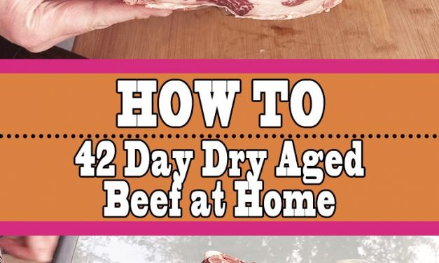 How To Dry Age Beef at Home (42 Day Aged Ribeye)