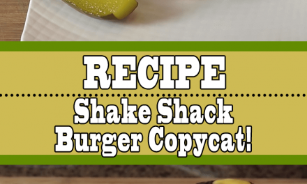 Shake Shack Burger Recipe (Mouthwatering Secret Sauce)
